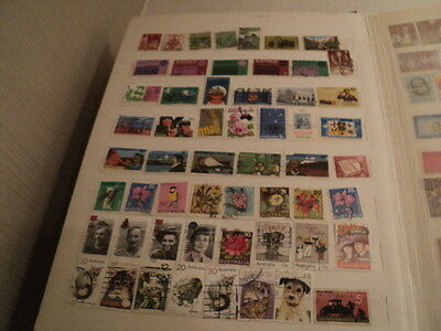 Australian & World Stamp Album collection of 1300 stamps
