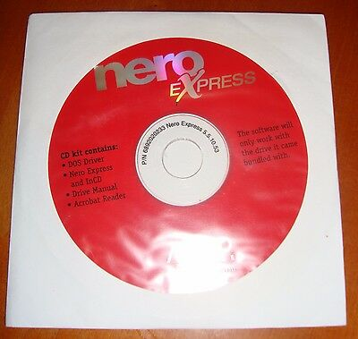 Nero Burn Express 5.5.10.53 AHEAD and inc cd software