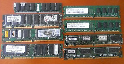 Wholesale 8x pcs Memory (RAM) DDR DDR1 DDR2 DDR3 Notebook Laptop Desktop PC lots