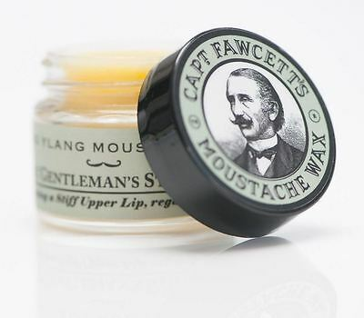 Captain Fawcett Ylang Ylang Moustache Wax, 15ml
