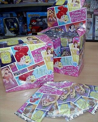 Topps Disney Princess Trading Cards Game: Quantity 9 18 36 packs or Sealed Box