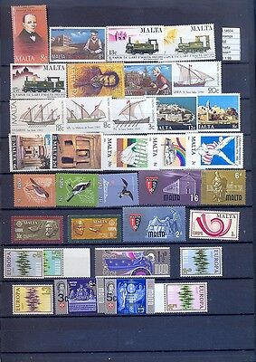 Stamps Lot  Malta  Mnh**  (L14604)