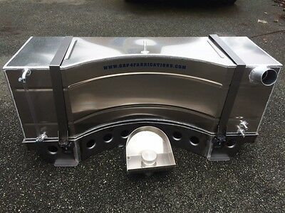 Ford Escort Mk 1 / 2  12 Gallon Alloy Fuel Tank C/W Filler Neck / Hose / Stand