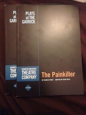 The Painkiller Theatre Programme Garrick Theatre Kenneth Branagh & Rob Brydon