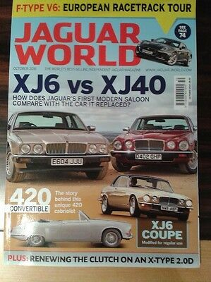 Jaguar World October 2016 issue- in excellent conditions!
