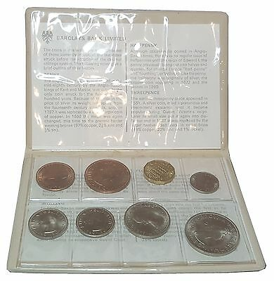Barclays Bank Limited Queen Elizabeth Coin Set 1966-1976