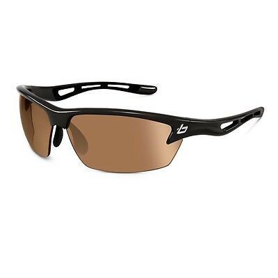 Bolle Golf B-Clear Bolt Sunglasses (Photo V3 Golf Oleo Af Lens Shiny Black)