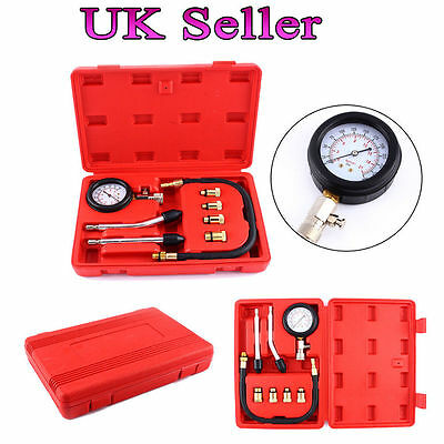 Automotive Motorbike Petrol Engine Compression Test Gauge Tester Kit Tool Moto A
