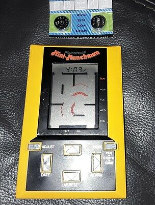 Vintage Grandstand Mini Munchman. Fully Working + Spare Batteries