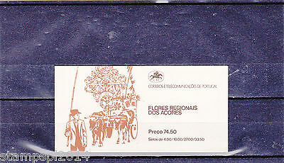 Portugal / Azores Booklet Flowers (1982)  Mnh(**)
