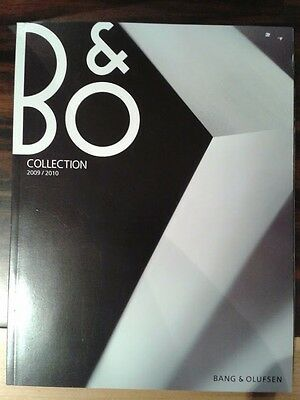 Bang & Olufsen Catalog 2009-2010 in English 120 pages. RARE for collectors!