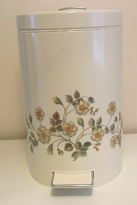BNWT M&S Autumn Leaves Pedal Bin 1986 Extremely Rare Sealed St Michael