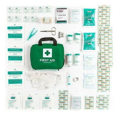 Car First Aid Kit Traveler Medical Emergency Workplace Camping Catering School