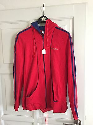 Vintage Adidas  Jacket. 1970's Rare Made in West Germany D42 Deadstock Girls