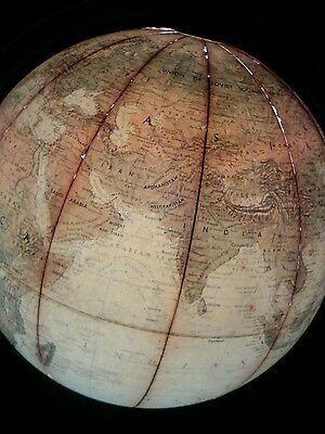 1930s Replogle floor lighted globe true to life 12 inçh... as is