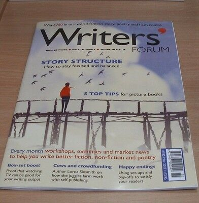 Writers' Forum magazine #185 MAR 2017 Picture Book Tips, Crowdfunding, Endings &