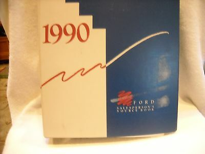 1990 Ford Car And Truck Mustang Crown Vic F-Series Salesperson's Source Book