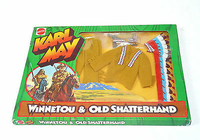 Big Jim Karl May Winnetou Clothing Set Nr. 9413 OVP Indian Chief Mattel 1975