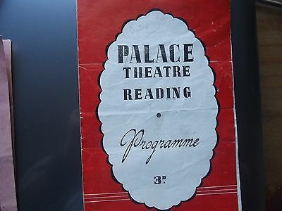 Theatre Programme.Palace Reading