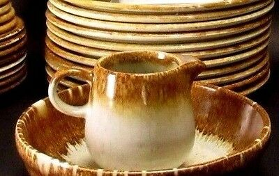 McCoy Canyon 1412 1423 7020 Brown Drip Speckled Creamer Only