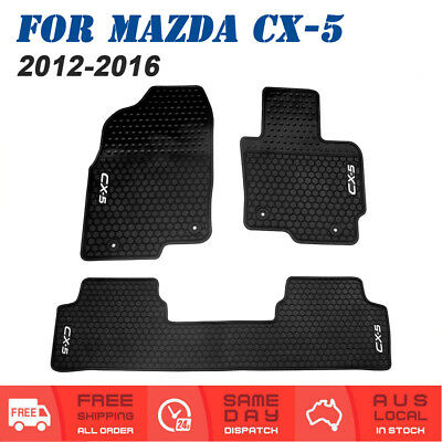 New Rubber Car Floor Mats Tailored For Mazda CX-5 (2012-2016) All Models