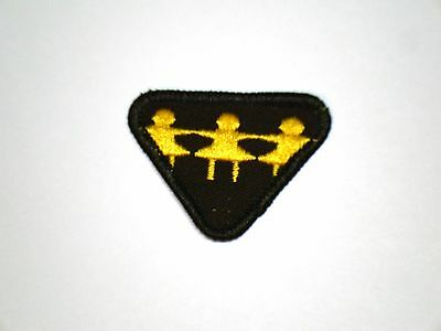 Vintage Brownie CRAFTS Interest Badge Girl Guide Scout Patch Crest RARE