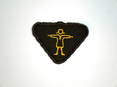 Vintage Brownie ATHLETE Interest Badge Girl Guide Scout Patch Crest RARE