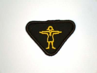 Vintage Brownie ATHLETE Interest Badge NEW Girl Guide Scout Patch Crest RARE