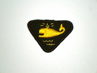 Vintage Brownie ENDANGERED SPECIES Interest Badge Girl Guide Scout Patch Crest