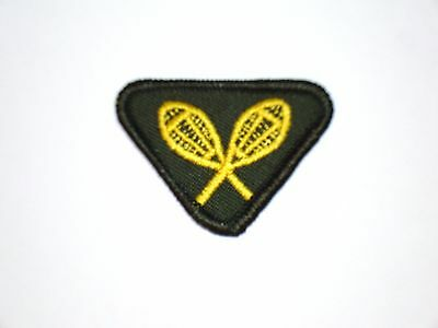 Vintage Brownie SNOW SPORTS Interest Badge NEW Girl Guide Scout Patch Crest RARE