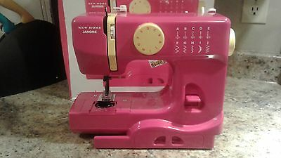 New Janome portable sewing machine no power cord or foot pedal