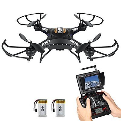 SEHR GUT: Potensic® F183DH - Axis Gyro RC Quadcopter Drone mit HD Kamera FPV