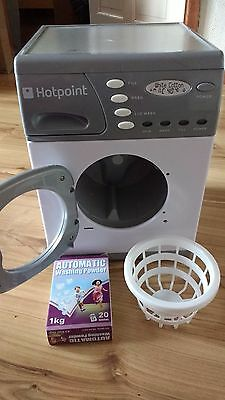 Hotpoint toy washing machine spins, sounds and lights
