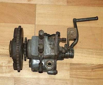 Gearbox with Clutch used. Vintage Motorcycle
