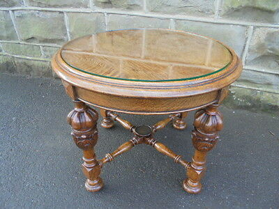 Quality Antique Oak Coffee Table