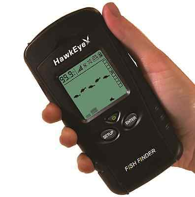 HawkEye® Portable Fishfinder Hand Held Fish Finder With Depth and Weed Readings