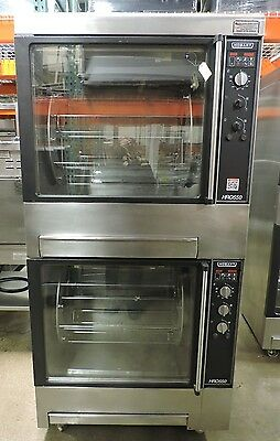 Used Hobart HRO550 Commercial Double Rotisserie Oven