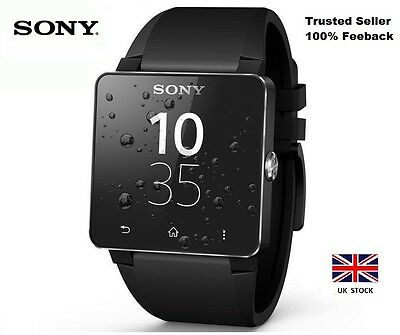 SONY Smartwatch SW2 - Android Compatible + Bluetooth 3 - Black - BNIB - RRP £120