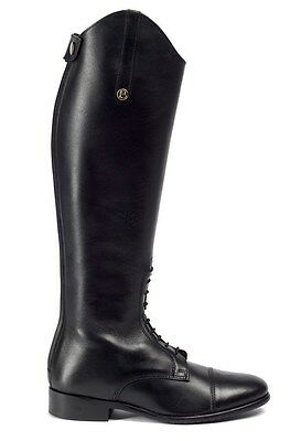 Brogini 2132 Long Leather Riding Field Boot Size 41 Calf 01 Regular Height