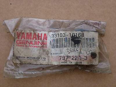 Yamaha Wr200 Wr250 Yz80 Yz125 Yz250 Rd350 Water Pump Oil Seal 93103-10168 New