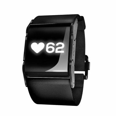 PulseOn HEART RATE WATCH & MONITOR - Running/Fitness/Tracker -RRP £100 Coal