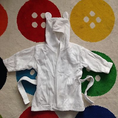 Baby Dressing Gown - Up To 6m