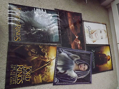 Six Lord Of the Rings Double Sided Posters.