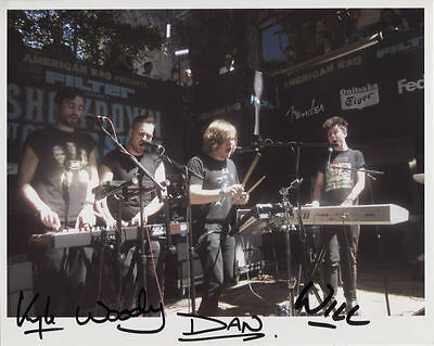 Bastille (Band)  Fully Signed 8 x 10 Photo Genuine In Person