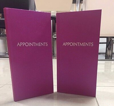 3 Column Spangly Pink Appointment Book