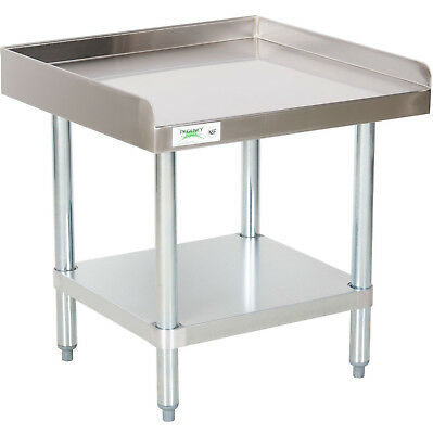 "NEW Regency 24"" x 24"" Stainless Steel Work Prep Table Commercial Equipment Stand"