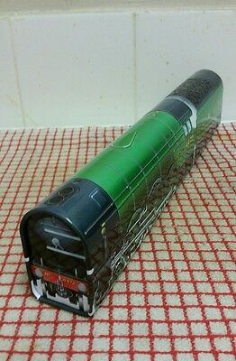 Empty sweet tin in the shape of the Flying Scotsman Engine  (4472)