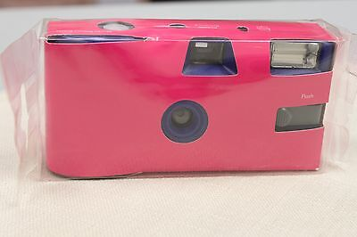 Hot Pink Disposable Wedding Camera Fuchsia Party Camera Single Use Pack of 10
