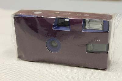 Purple Disposable Wedding Camera Purple Party Camera Single Use Pack of 10