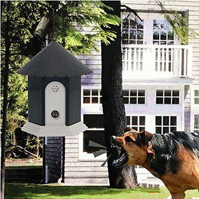 Outdoor Dog Ultrasonic Bark Control System Pet Stop Barking Anti Bark Trainer